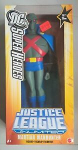 "NEW 10"" MARTIAN MANHUNTER FIGURE JUSTICE LEAGUE UNLIMITED 2005 MATTEL! C86"
