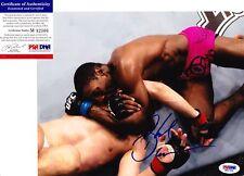 "PHIL DAVIS ""MR. WONDERFUL"" signed UFC 8x10 Photo - PSA"