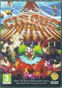 Circus World Simulator, Acrobats, Clowns, Human Canons to Animals, PC SIM Game