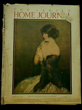 Ladies' Home Journal Magazine February 1923 FASHIONS COCA-COLA AD & CUT OUT DOLL