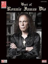 RONNIE JAMES DIO RAINBOW BLACK SABBATH GUITAR TAB SONG BOOK