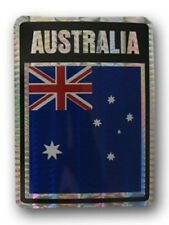 Wholesale Lot 12 Australia Country Flag Reflective Decal Bumper Sticker