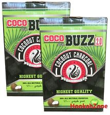 144 Pcs Starbuzz CocoBUZZ  Coconut Natural Charcoal Coco Shisha CUBES 2 KG NEW