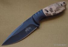 MASTER USA FIXED BLADE HUNTING SKINNING KNIFE W/ NYLON SHEATH *RAZOR SHARP EDGE*