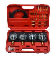 Fuel Vacuum Carburetor Synchronizer Carb Balancer Sync Gauge Set Auto Tool 4 Kit