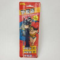 Vintage Batman PEZ Dispenser Super Friends DC Comics 1985 New W/ Candy Package