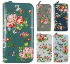 Faux Leather Clutch Floral Purses & Wallets for Women