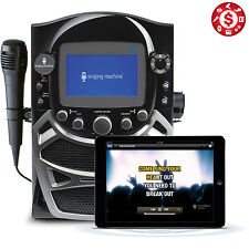 "Karaoke Singing Machine CD+G Built-In 5"" Color with TFT Display Bluetooth System"