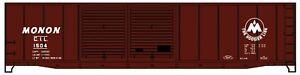 Accurail 50' boxcar Monon/CIL #1504 HO SCALE KIT NEW!