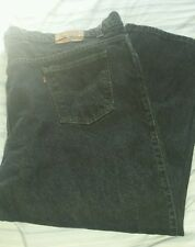 Levi's 640 Relaxed Fit Black Jeans - Men Size 52×32