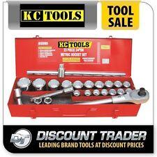 "KC Tools 23 Piece 3/4"" Drive Metric Socket Set - A13365"