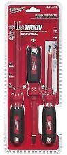 Milwaukee 48-22-2202 3PC 1000V Insulated Screwdriver Set