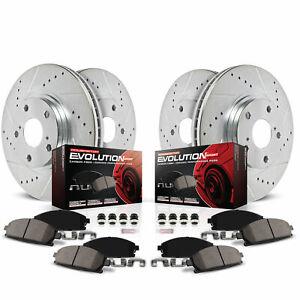 Power Stop K2325 Disc Brake Kit For 01-07 Toyota Sequoia