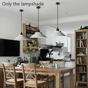 Modern Metal Pendant Shade Ceiling Light Retro Easy newmc Fit Hot Lampshade M1M3