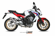 MIVV FULL SYSTEM EXHAUST FOR HONDA CB 650 F 2014 > 2018 GP TITANIUM NO KAT