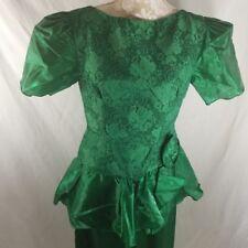 Vestidos vintage de mujer original color principal verde