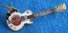 OSAKA 2nd ANNIVERSARY GUITAR JAPANESE SAMURAI WARRIOR HELMET Hard Rock Cafe PIN