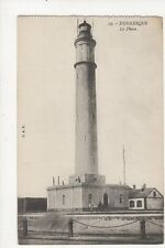 Dunkerque Le Phare Vintage Postcard France 344a ^