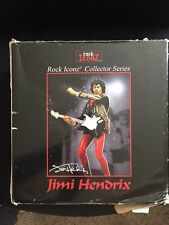 Jimi Hendrix Rock Iconz Figure Knucklebonz Guitar Hero Color Statue