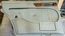 MERCEDES W126 300SD 83 USED LEFT REAR INTERIOR DOOR TRIM PANEL GREY 1983