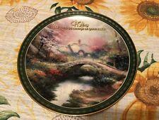 "Brookside Hideaway Thomas Kinkade 8"" Land of Wonder Collector Plate"