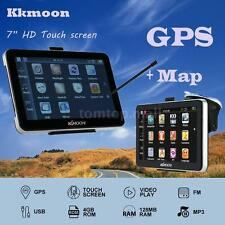"Portable 7"" Hd Touchscreen Car Gps Navigation Fm Usb Mp4 Video Play Windows Ce 6"