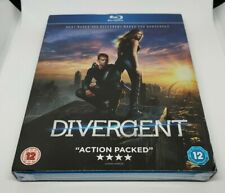 Divergent Blu-ray New Slipcase Futuristic Sci-Fi Action