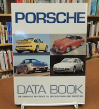 Porsche Data Book Reference Specifications Statistics Softcover Marc Bongers