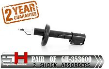 2 NEW FRONT  SHOCK ABSORBERS FOR OPEL /  VAUXHALL VECTRA B / GH-353600 /
