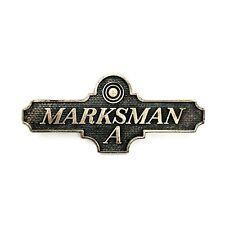 MODEL 1903 U.S. ARMY MARKSMAN A BADGE PRE WW1
