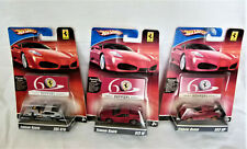 3 x ferrari Racer 2/24 365 GTB 13/24 512 m 20/24 333 sp colección Hot Wheels vpo