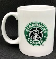 2006 Starbucks Mermaid Siren 12 oz Coffee Mug Cup White Green Collectible