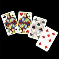 Jumbo King's Problem Magic Tricks Card Change King Disappear Close Up Illusions