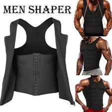 Men's Neoprene Sauna Thermo Sweat Body Shaper Waist Trainer Fitness Corset Vest