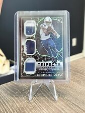New listing 2020 Obsidian Trifecta Material Patch Michael Pittman Jr. Rc #10/50 Colts