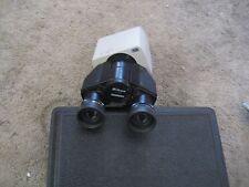 Nikon Microscope Binocular Head with CFW15 eye piece lens 15X  #- 141418