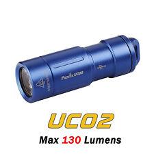 Fenix UC02 Cree XP-G2 S2 LED USB Rechargeable Keychain Flashlight Torch-Blue