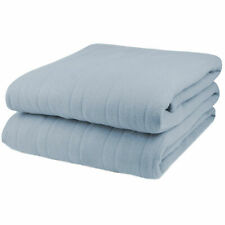 New listing Pure Warmth Fleece Electric Heated Blanket Twin Cloud Blue