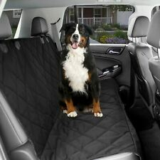 Dog Car Seat Cover Back Seat For Pets - Black