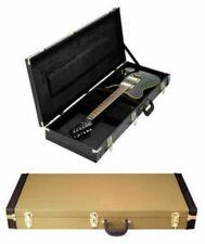 Rechteck-Gitarren-Koffer Hochwertiger Holzkern Rechteck-Koffer für E- Gitarre,