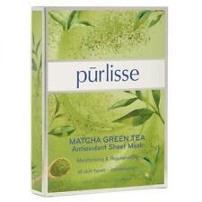 Purlisse Matcha Green Tea Antioxidant Sheet Mask Box Of 6 Moisturizing