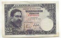 25 Pesetas 1954 Isaac Albeniz @ Sin Circular @