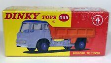 Atlas Dinky Toys Reproduction - 435 Bedford TK Tipper Diecast Model Truck