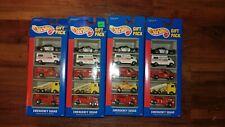 HOT WHEELS Emergency Squad Lot of 4 Gift Packs #3870 1994 New