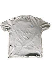 Palace racing stripe t shirt light blue / grey Large