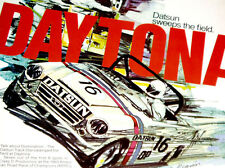 1970 DATSUN 2000/1600 DAYTONA RACING AD - Nissan/spl310/2.4/2.0/1.6 liter engine