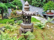 Steinfigur Steinlaterne Pagode Gartenlicht Naturstein S87