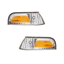 NEW PAIR SIDE MARKER LIGHTS FITS FORD CROWN VICTORIA LX FO2521147 XW7Z-15A201-BB