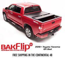 Bakflip G2 Hard Folding Tonneau Cover 2016-18 Toyota Tacoma 6' Bed 226427