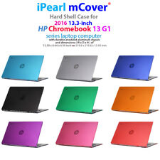 "mCover Hard Case for 2016 13.3"" HP Chromebook 13 G1 series Laptop Computer"